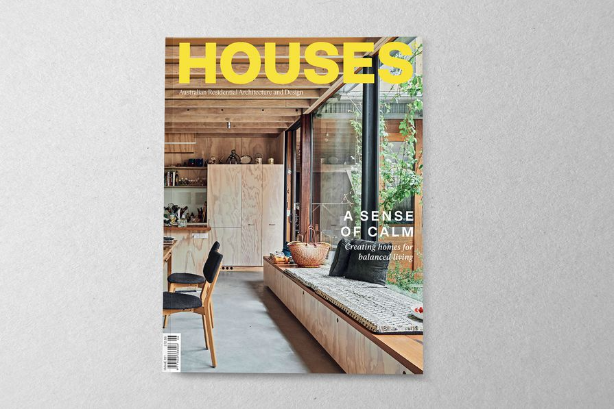 Houses 131. Cover project: North Melbourne House by NMBW Architecture Studio.
