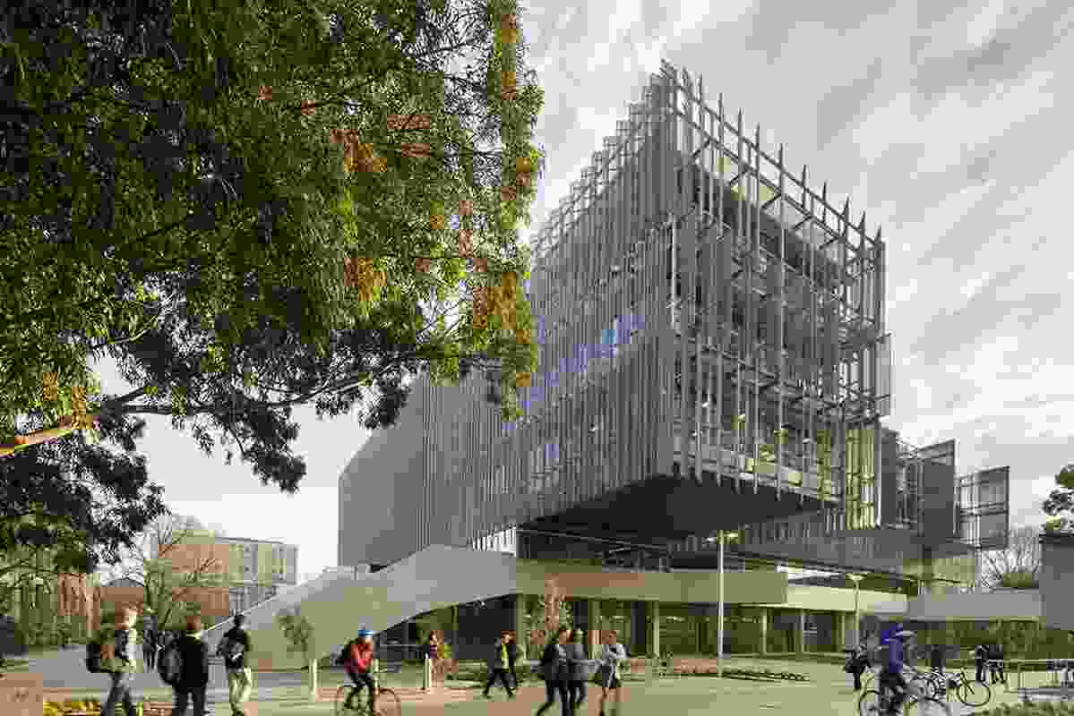 RASP's first research project will be a joint venture between ArchiTeam, the Melbourne School of Design (pictured) and Dr Peter Raisbeck, the senior lecturer in architectural design practice at the University of Melbourne.