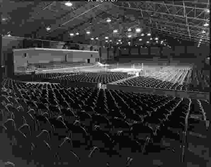 Festival Hall when it was known as Stadium. c. 1957.