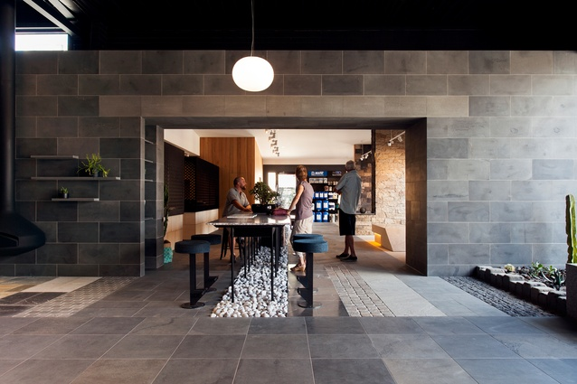 Pavers Plus Showroom And Trade by Splinter Society Architecture.