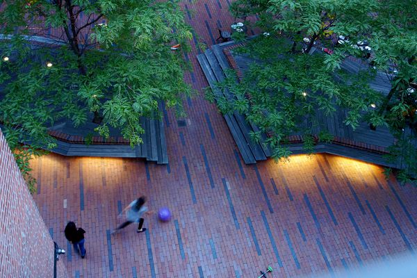 Archipelago Communal Courtyard by Terrain.