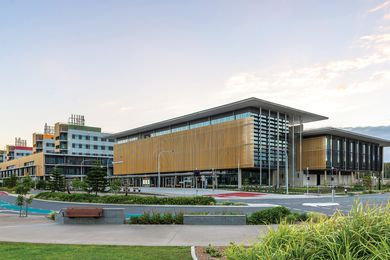 Sunshine Coast University Hospital by Architectus Brisbane and HDR Rice Daubney as Sunshine Coast Architects.