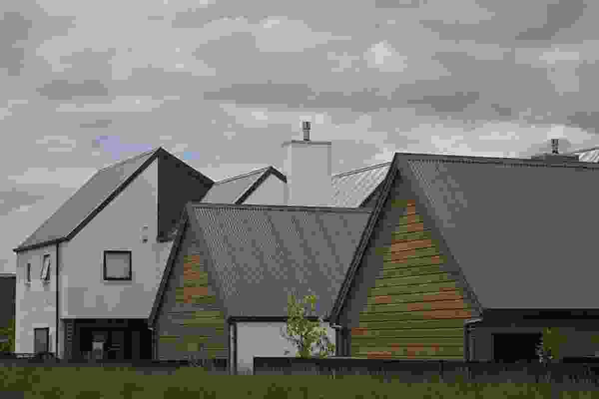 Housing - Multi Unit category finalist: Squadron Lane Terraces, Auckland by Stevens Lawson Architects.