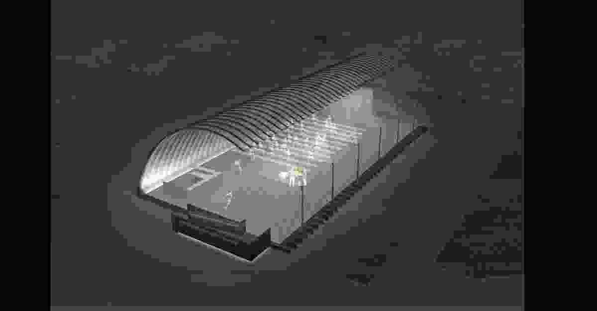 Serpentine Pavilion Beijing by Jiakun Architects.