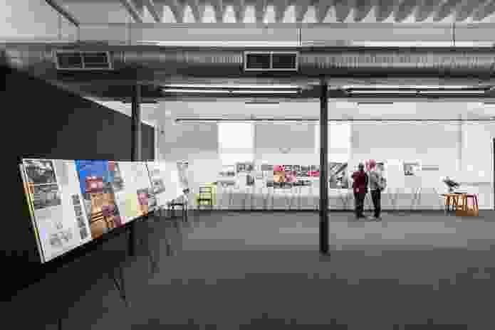 Exhibition stands at Dickson and Platten Architects: 1950-2000.