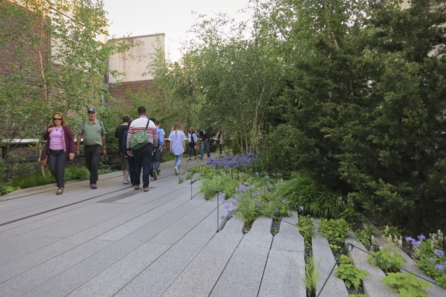 Planting detail on the High Line by Diller Scofidio + Renfro and James Corner Field Operations.