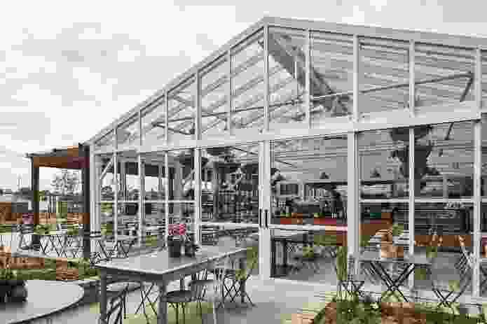 Burwood Brickworks by NH Architecture.