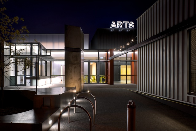 Moonah Arts Centre by Morrison & Breytenbach Architects.