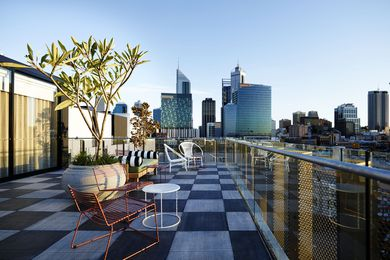 Alex Hotel - Mezzanine Lounge & Roof Terrace by Arent&Pyke.