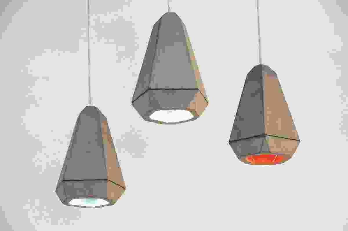 Portland concrete pendant lamps from Innermost.
