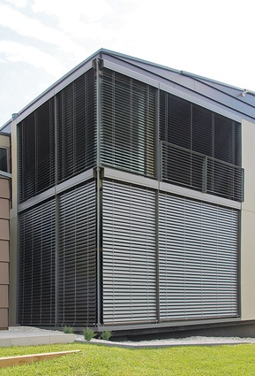 Horiso external venetian blinds.