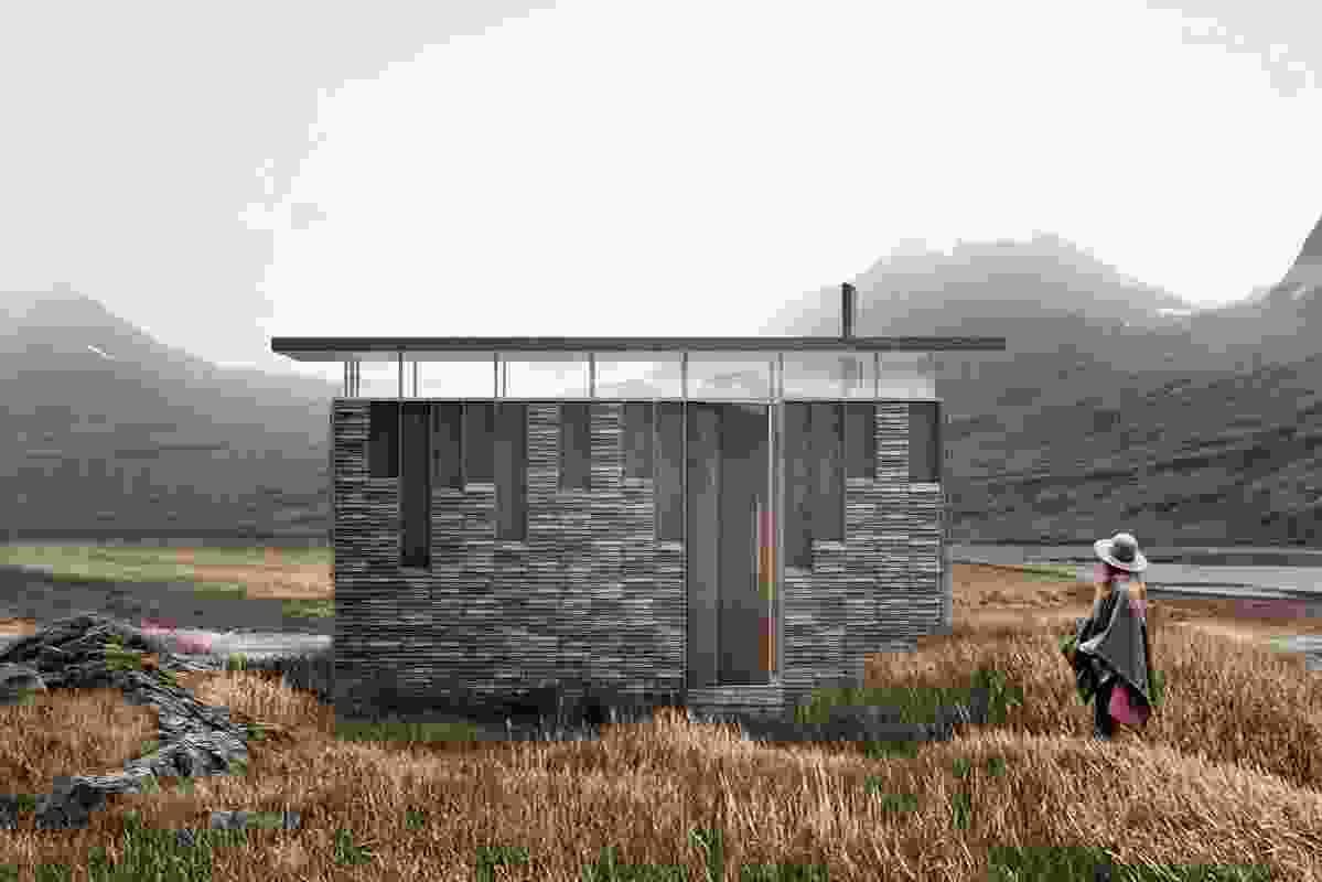 Slate Cabin by Trias.