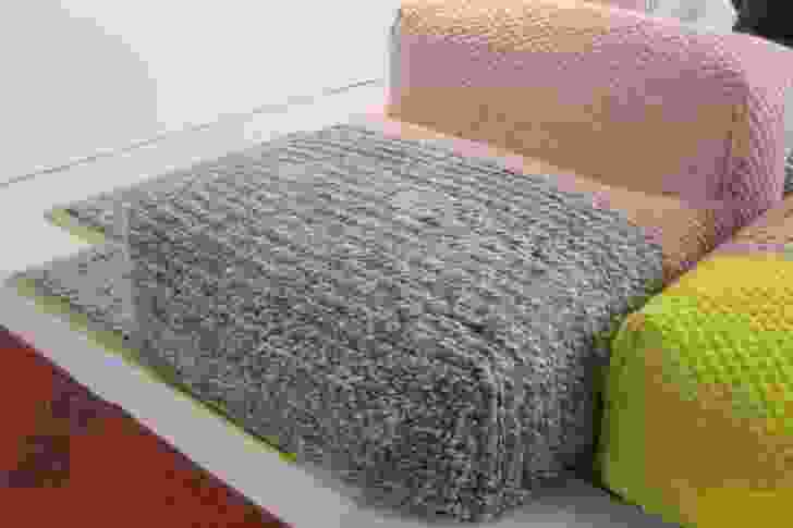 Patricia Urquiola's knitted sofa for Gan.