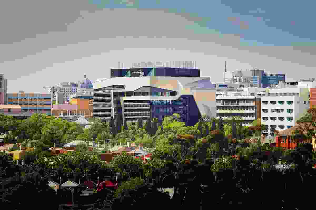 Melbourne Brain Centre by Lyons.