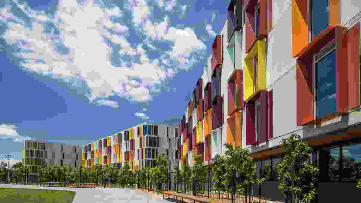 Monash University Turner Building Student Accommodation by Jackson Clements Burrows Architects.