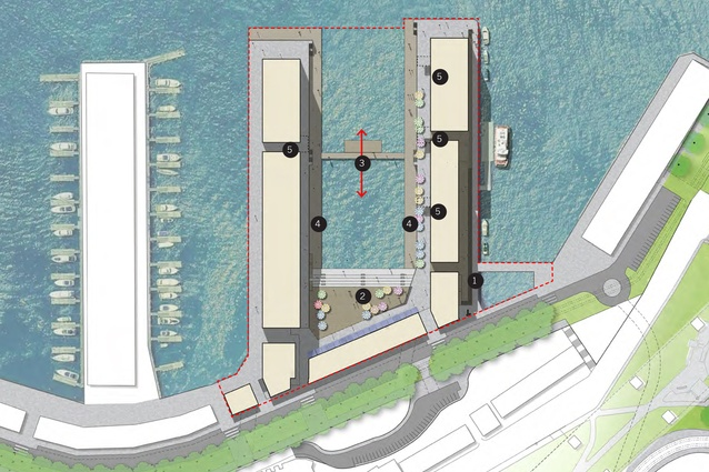 Approved concept plan for Walsh Bay Arts Precinct