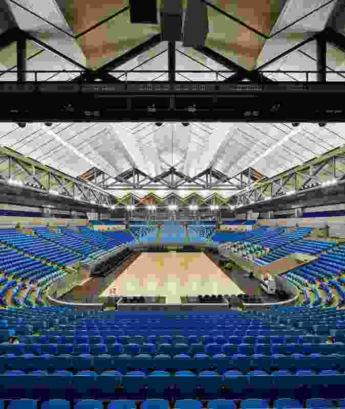 Margaret Court Arena by NH Architecture + Populous in joint venture.