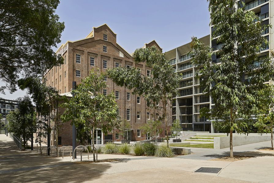 Flour Mill of Summer Hill by Hassell
