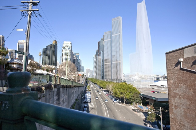 One Sydney Harbour by Renzo Piano Building Workshop will be situated at the southern end of the yet-to-be-designed Hickson Park in Sydney's Barangaroo.