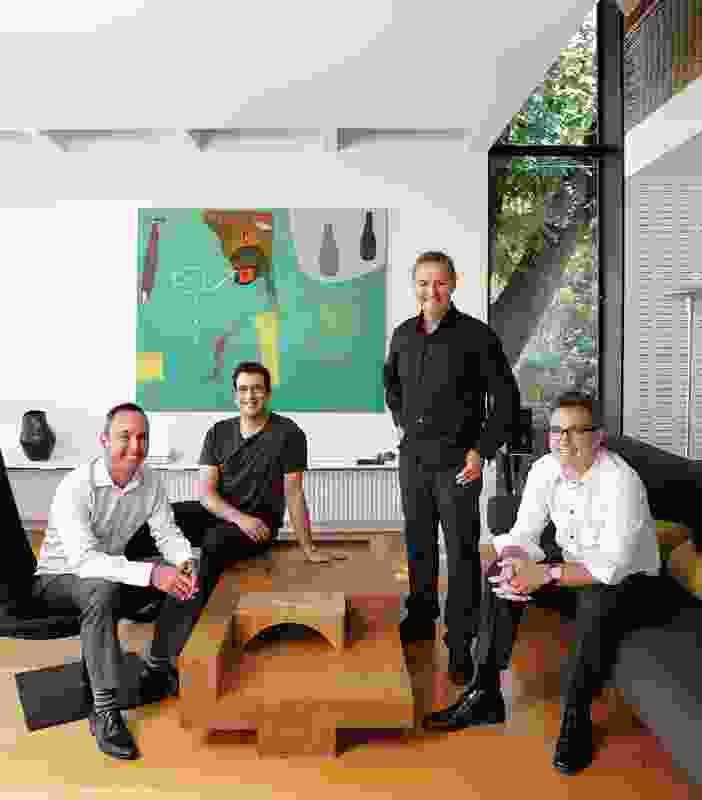 Andrew Wong, Diego Bekinschtein, John Wardle and Stefan Mee.
