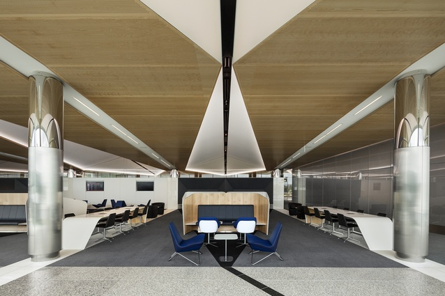 Canberra Airport - International (ACT) by Guida Moseley Brown Architects.