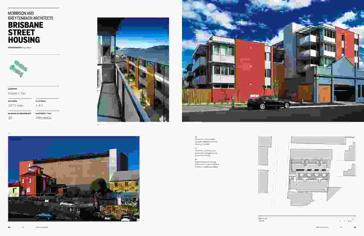 Brisbane Street Housing by Morrison and Breytenbach Architects.