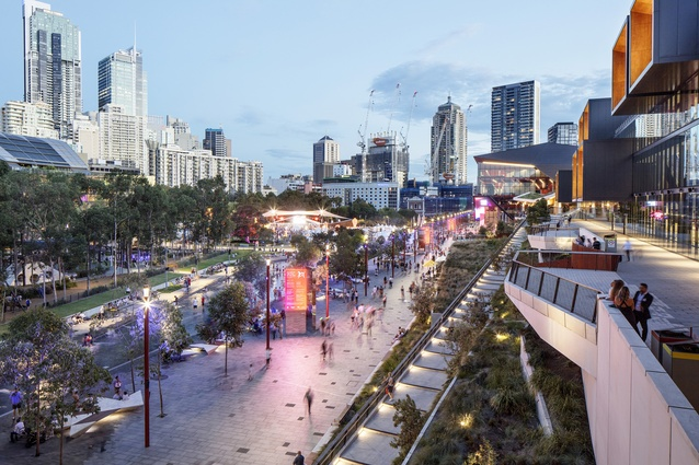 Darling Harbour Transformation by Hassell/Hassell and Populous.