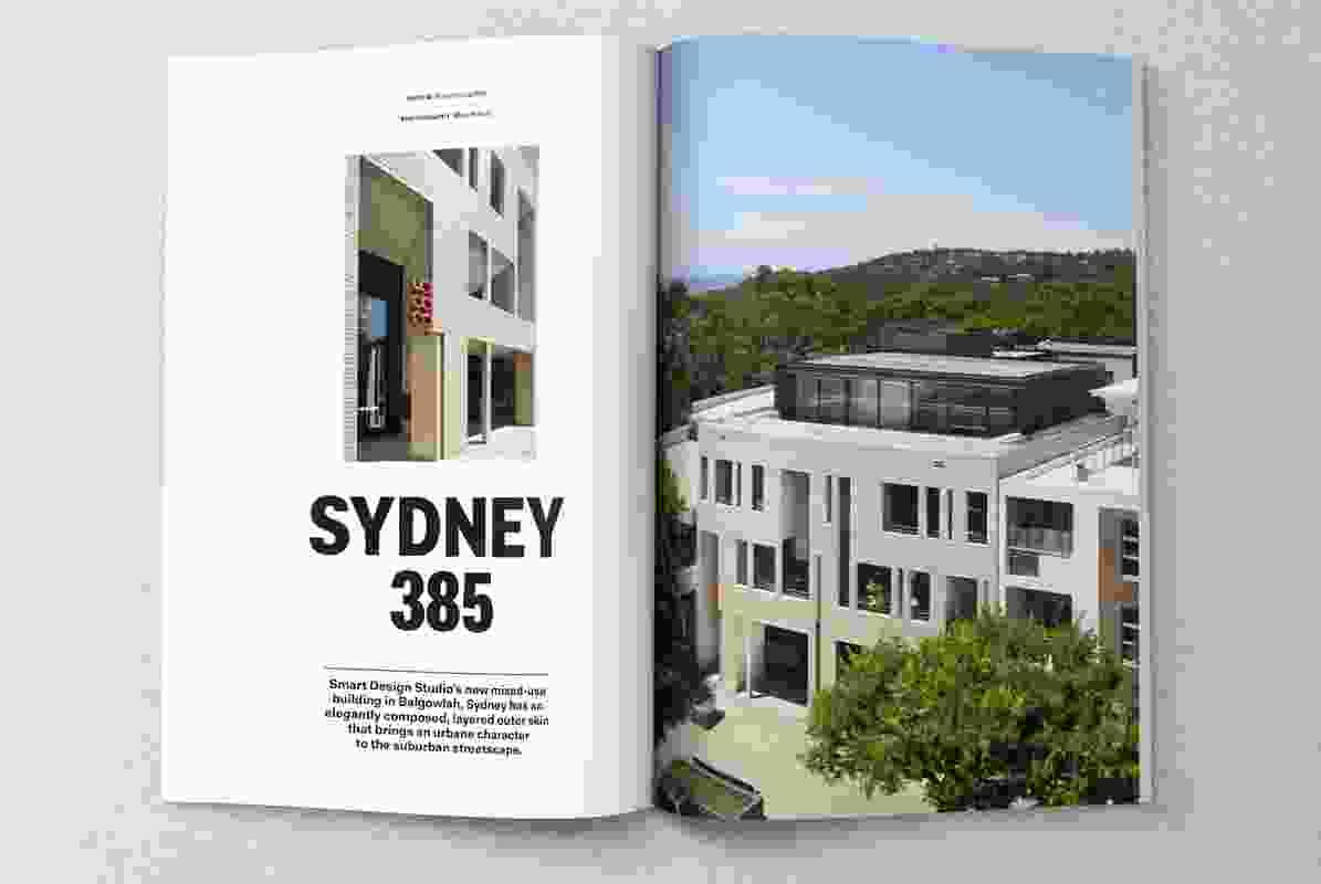 Sydney 385 designed by Smart Design Studio.