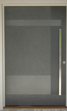 New entry doors from Axolotl | ArchitectureAU