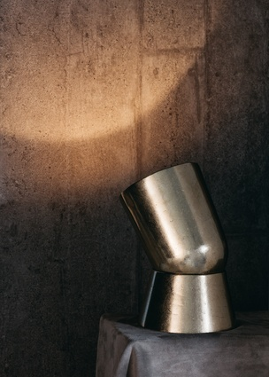 Surface Sconce light by Henry Wilson at Aesop Brera.