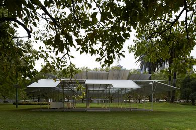 Sean Godsell Architects' design for the inaugural MPavilion.