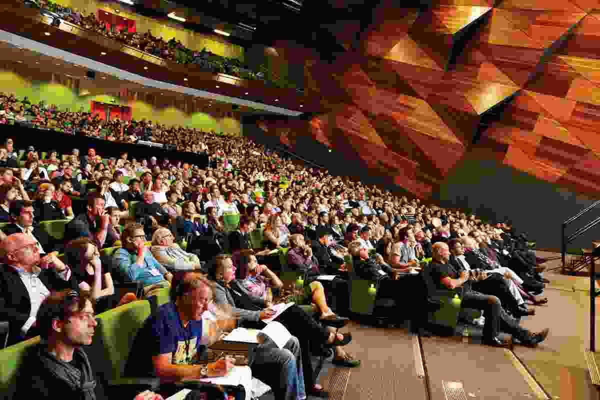 Delegates at the National Conference, held at the Melbourne Convention and Exhibition Centre.