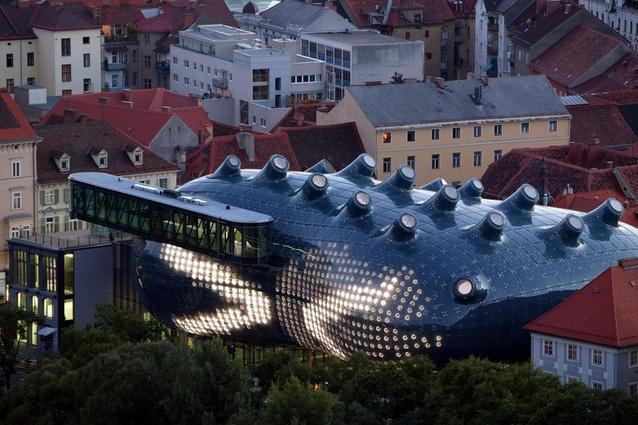 CRAB Studio's Kunsthaus Art Gallery, Graz, Austria.