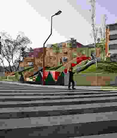 Nicaragua Square by Flores Prats.