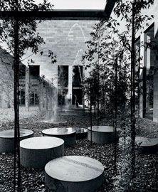 Bamboo court, 1968.