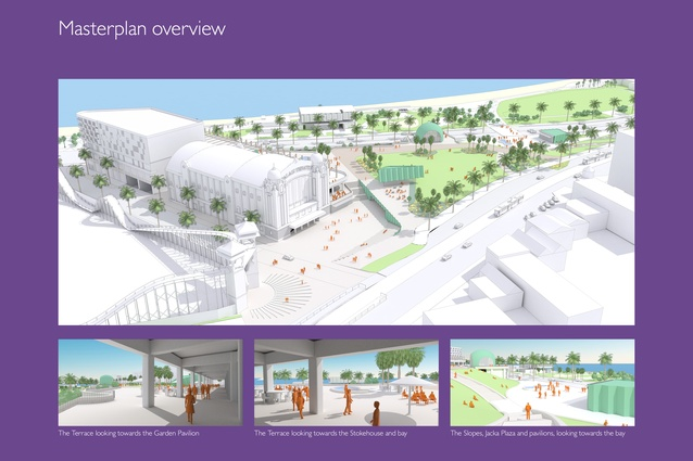 St Kilda Triangle Masterplan by City of Port Phillip.