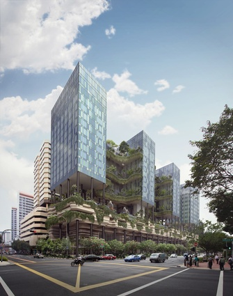 A suite of sustainable technologies makes Park Royal on Pickering an environmentally friendly building.