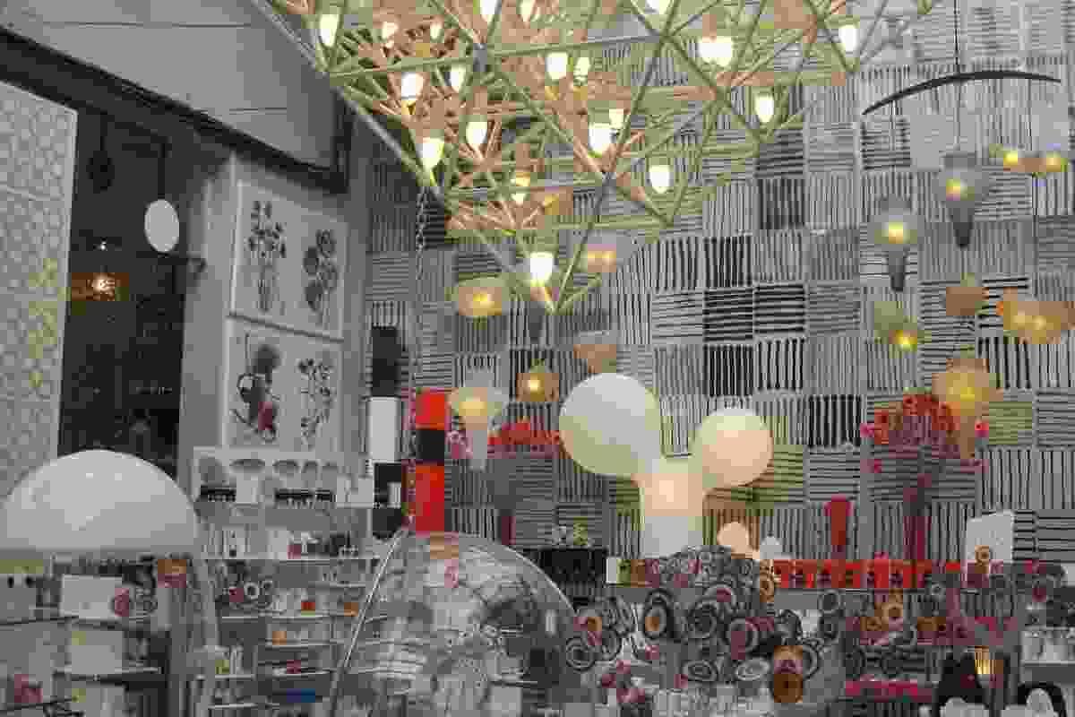Creative displays at 10 Corso Como.