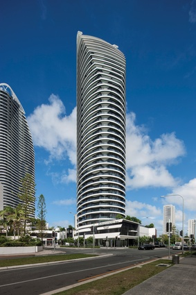 Oracle west tower (2010) by DBI Design, Surfers Paradise.