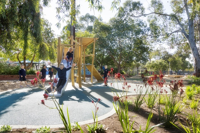 Haslop Reserve Playspace by Aspect Studios.