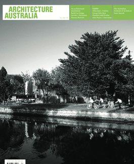 Architecture Australia, July 2008