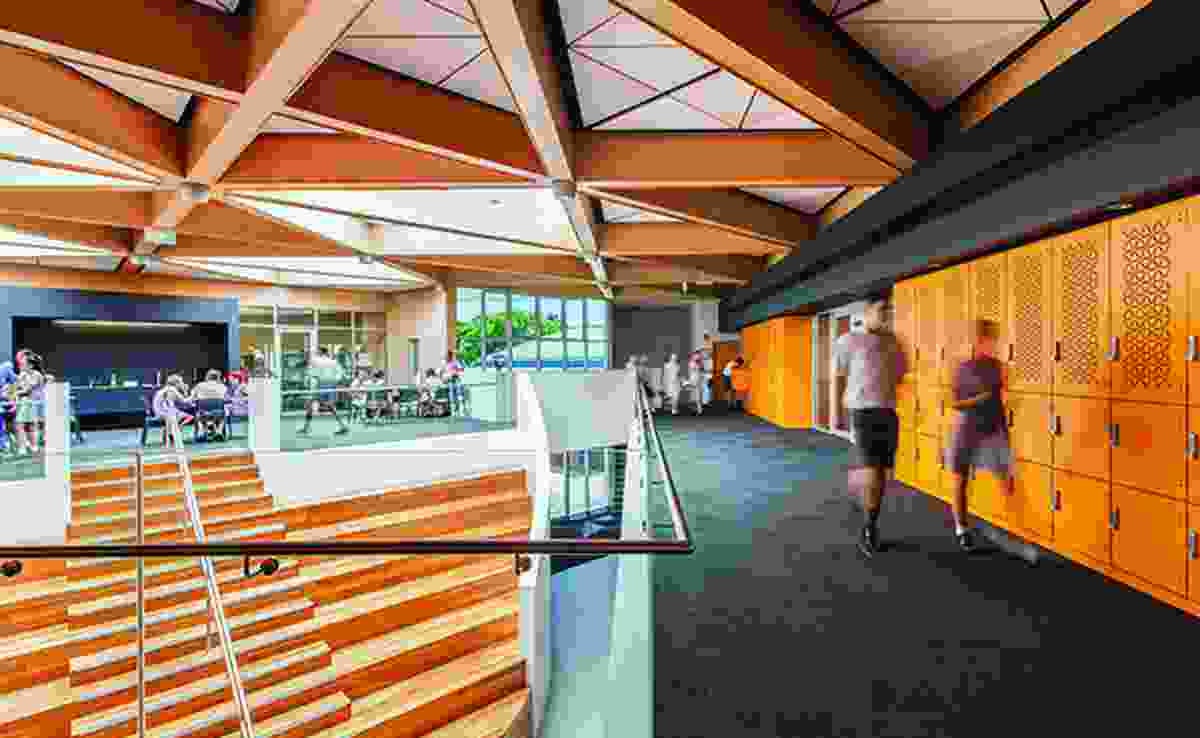 John Septimus Roe Anglican Community School - Senior Learning Centre by Brooking Design Architects.