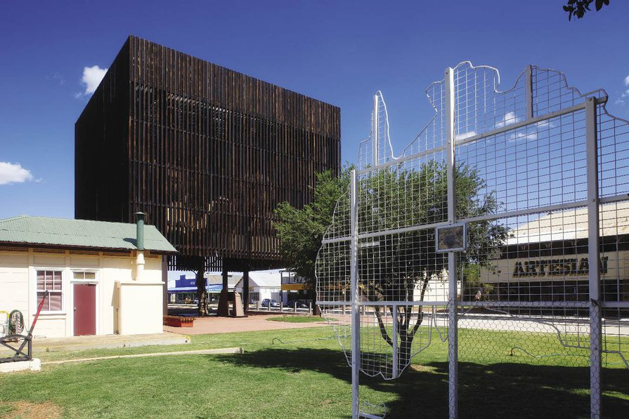 Barcaldine Tree of Knowledge Memorial