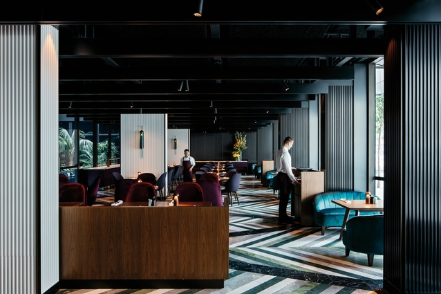 West Hotel by Woods Bagot in collaboration with Fitzpatrick and Partners.