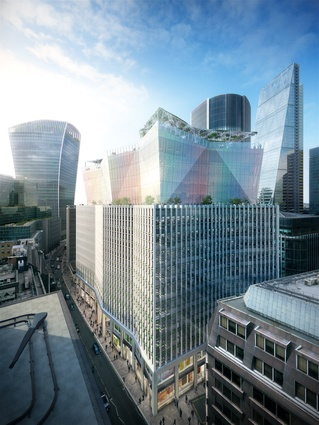 10 Fenchurch Avenue by Eric Parry Architects.