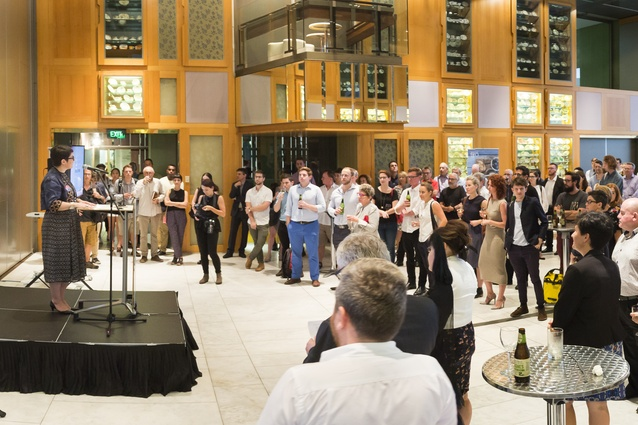The opening of the Asia Pacific Architecture Forum 2016 at the State Library of Queensland.
