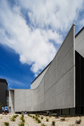 John Paul College Performing Arts Centre by Collins Caddaye Architects.
