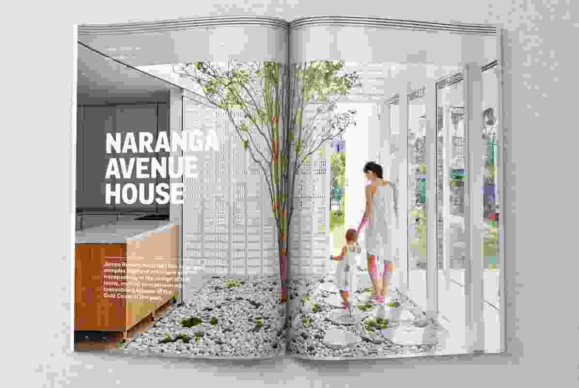Naranga Avenue House designed by James Russell Architect.