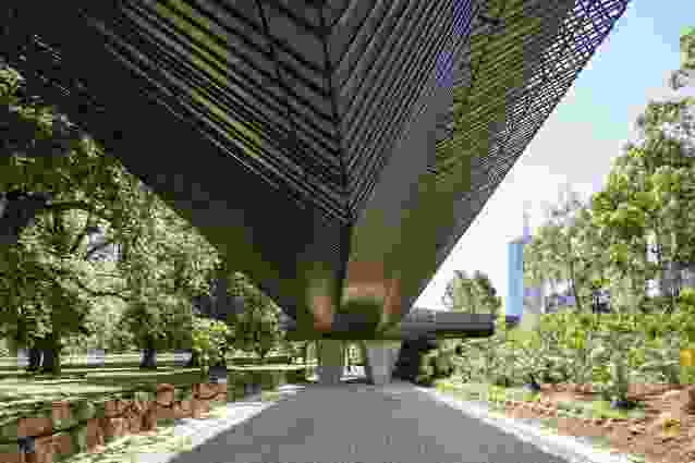 Tanderrum Bridge by John Wardle Architects with NADAAA and Oculus was a winner in the Urban Design category.