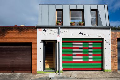 The design of Laneway Studio seeks to improve on the standard of other above-garage studios.